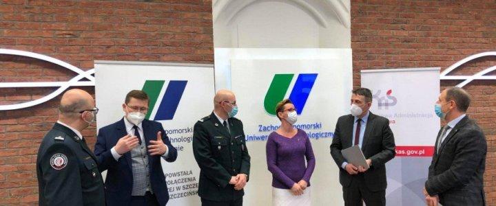Szczecin. Izba Administracji Skarbowej i ZUT będą współpracować. Podpisano w tej sprawie list intencyjny.