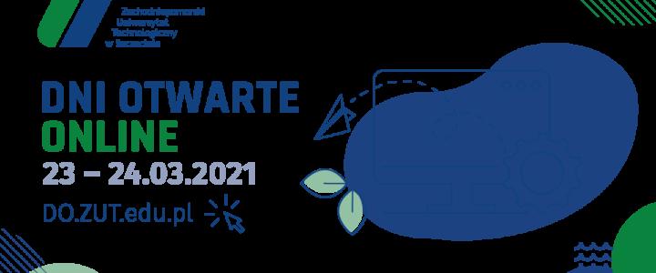 Zachodniopomorski Uniwersytet Technologiczny w Szczecinie zaprasza na Dni Otwarte Online.