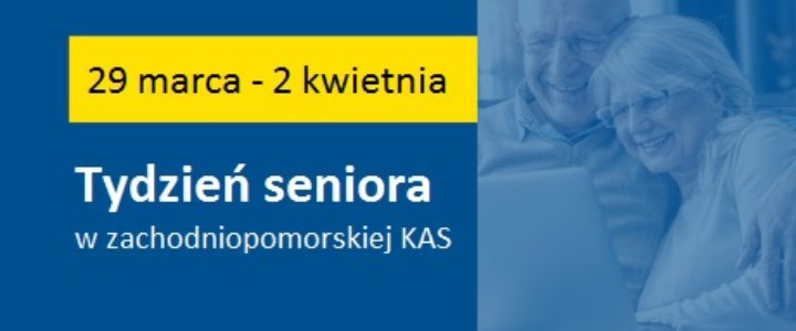 Tydzień seniora w zachodniopomorskiej Krajowej Administracji Skarbowej.