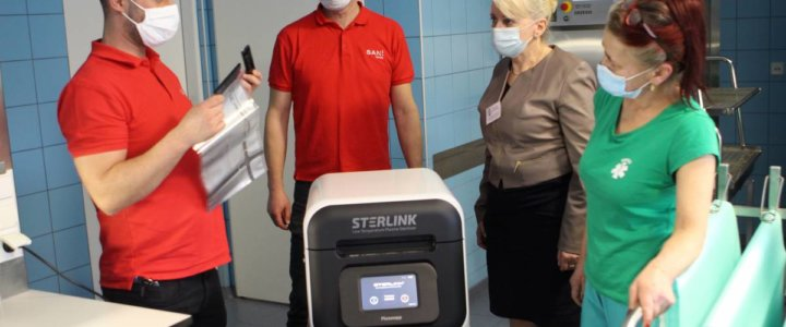Świnoujście. Szpital ma nowy sprzęt. To sterylizator plazmowy.
