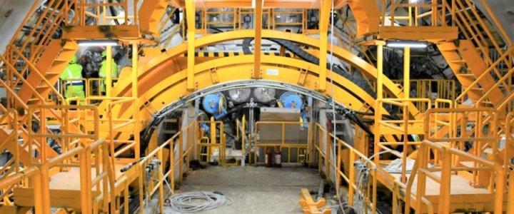 W Świnoujściu wydrążono już ponad 100 metrów tunelu.