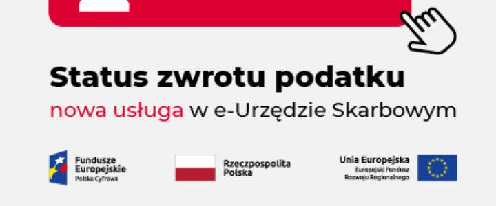 Status zwrotu – nowa usługa w e-Urzędzie Skarbowym.