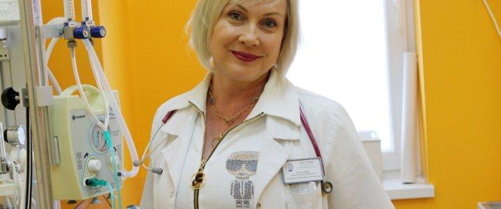 Świnoujście. Pracą Oddziałów Pediatrii i Neonatologii pokieruje lek. spec. Dorota Subicka.