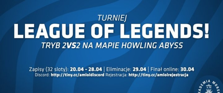 """Akademia Morska w Szczecinie. Turniej w """"The League of Legends"""" już 29-30 kwietnia."""