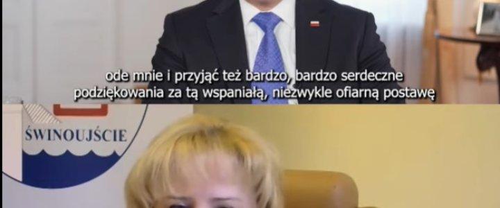 Świnoujście. Prezydent RP Andrzej Duda dziękował za pracę pracownikom naszego szpitala.