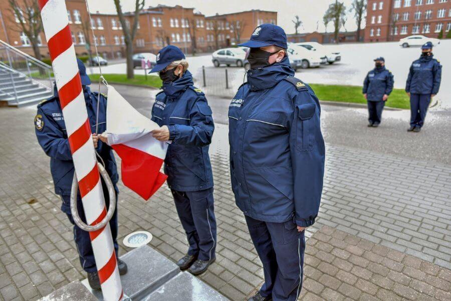 Świnoujście. Dzień Flagi Rzeczypospolitej Polskiej.