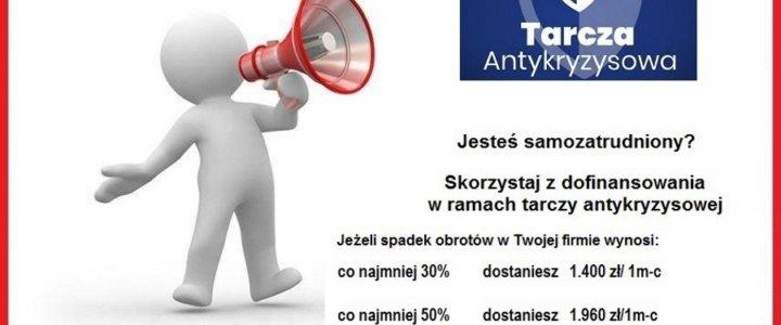 Dofinansowania dla przedsiębiorców w ramach tarczy antykryzysowej - PUP w Świnoujściu.