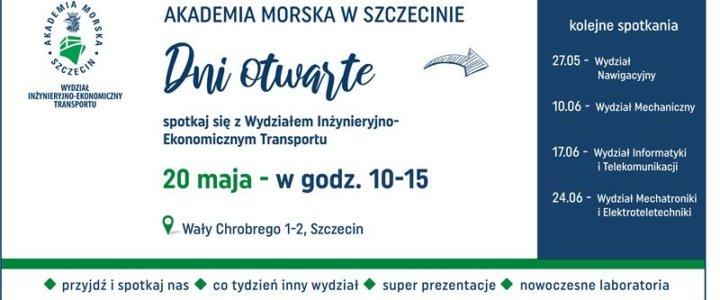 Akademia Morska w Szczecinie. Zaczynamy cykl Dni Otwartych #nieonlajn.