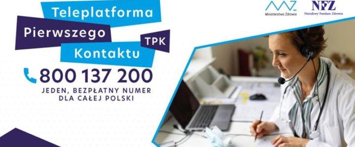 NFZ uruchomił Teleplatformę Pierwszego Kontaktu.