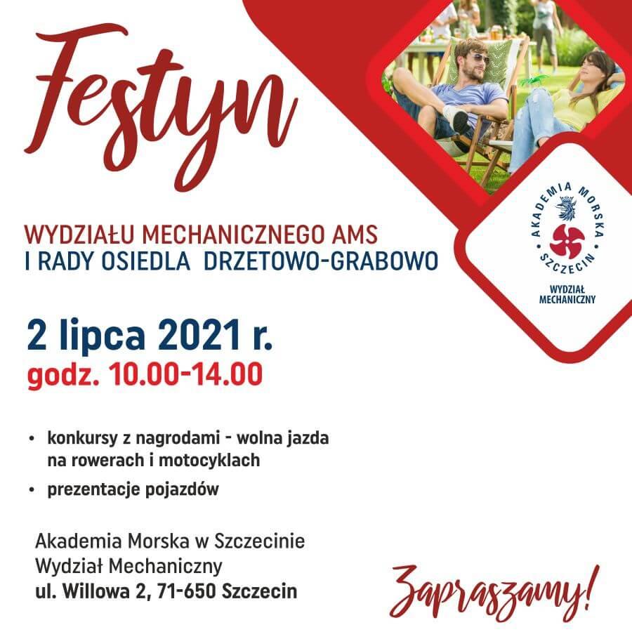Akademia Morska w Szczecinie. Piątkowy festyn na Willowej - Zaprasza Wydział Mechaniczny.