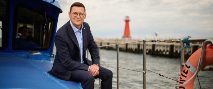 Port Szczecin - Świnoujście. Rozmowa z Łukaszem Greinke, prezesem Zarządu Morskiego Portu Gdańsk SA.