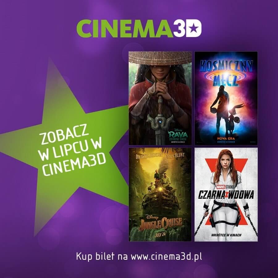 Świnoujście. Filmowy lipiec w Cinema3D!