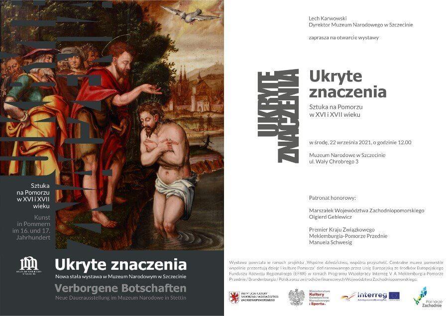 Uroczystość otwarcia nowych wystaw stałych w Muzeum Narodowym w Szczecinie.