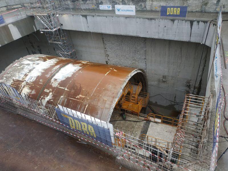 Świnoujście. Budowa tunelu. Najnowsze zdjęcia i informacje.
