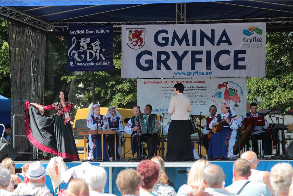 Gryfice. Jubileusz Karawany Kultury - Artistic Summer 2019.