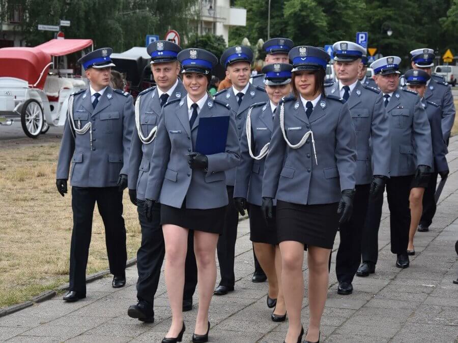 MIEJSKIE OBCHODY ŚWIĘTA POLICJI W ŚWINOUJŚCIU.