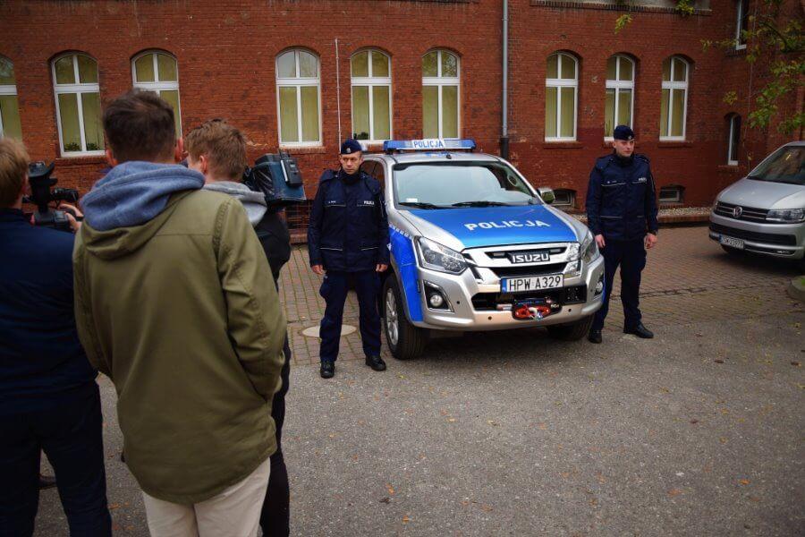 Nowy Isuzu D-MAX wspomoże policjantów