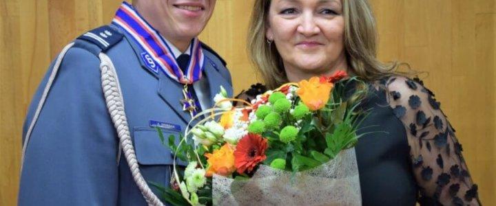 Świnoujście. POŻEGNANIE I ZASTĘPCY KOMENDANTA MIEJSKIEGO POLICJI W ŚWINOUJŚCIU – MŁ. INSP. ANDRZEJA MORDAKA.
