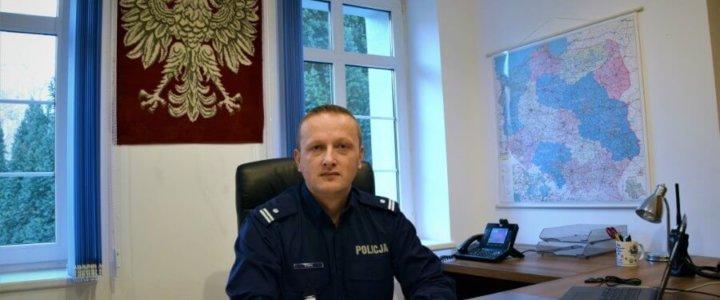 Świnoujście. PODINSP. MIROSŁAW BRYŚ NOWYM ZASTĘPCĄ KOMENDANTA POLICJI W ŚWINOUJŚCIU.