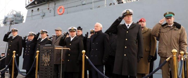 Świnoujście. 101. rocznica utworzenia Marynarki Wojennej.