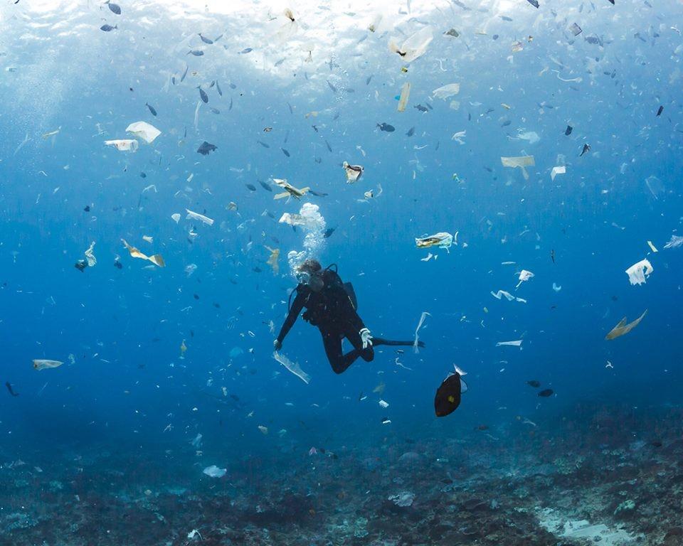 Pływające śmieci zamiast ryb. Szokujące odkrycie fińskiego fotografa (wideo)