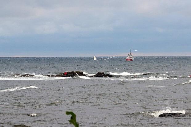 W pobliżu Bornholmu zatonął jacht z polską załogą
