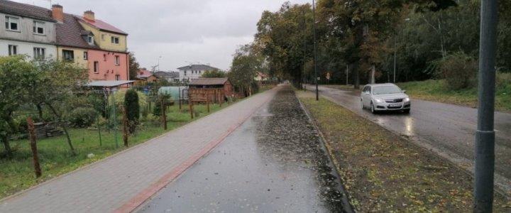 Świnoujście. Warszów ma 1,5 km nowej drogi rowerowej.