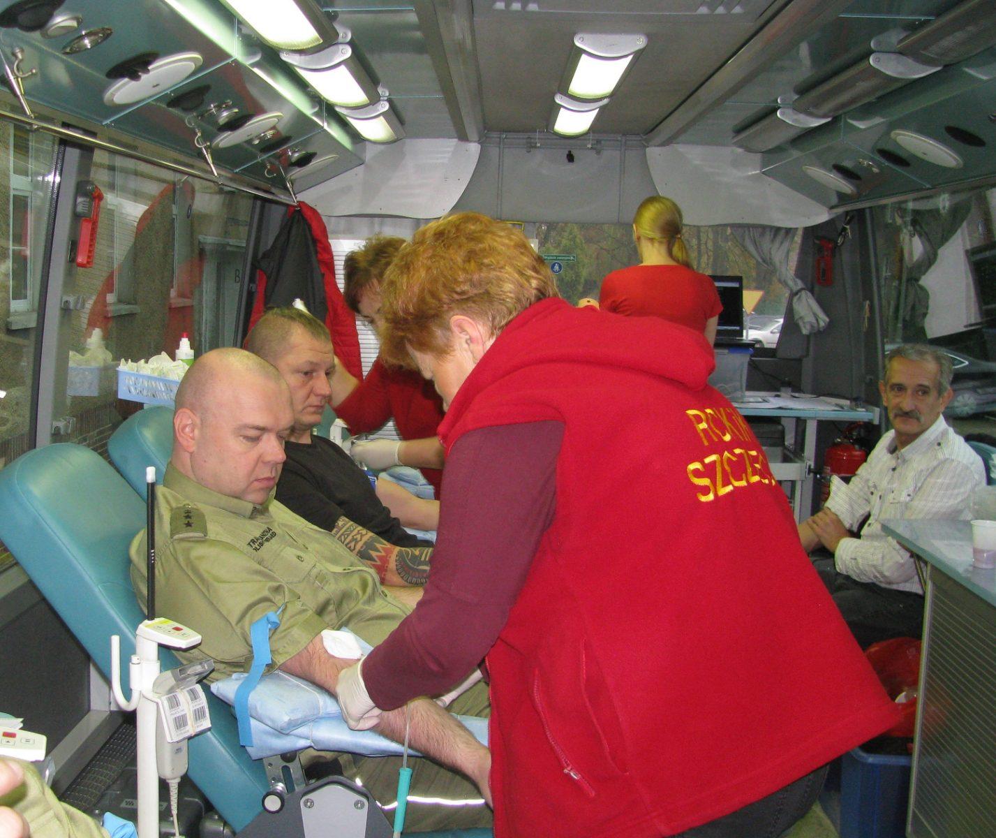 W Szczecinie oddali przeszło 10 litrów krwi