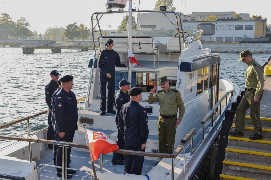 Straż Graniczna z wizytą w Marynarce Wojennej