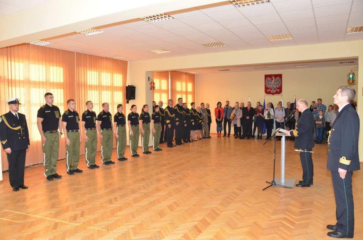 Morski Oddział Straży Granicznej ma od dziś nowych funkcjonariuszy