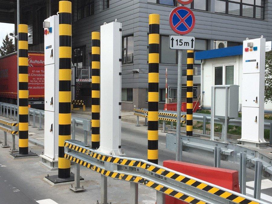 Nowoczesne bramki radiometryczne w morskich przejściach granicznych