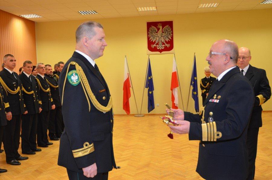 Kapelmistrz Orkiestry MOSG pożegnał się ze służbą w Straży Granicznej