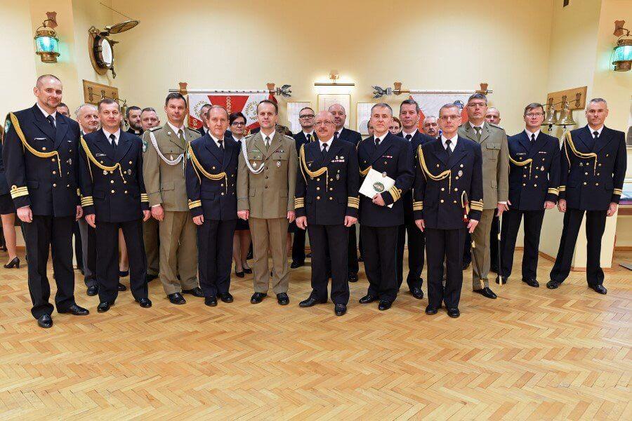 Pożegnania ze służbą w Morskim Oddziale Straży Granicznej