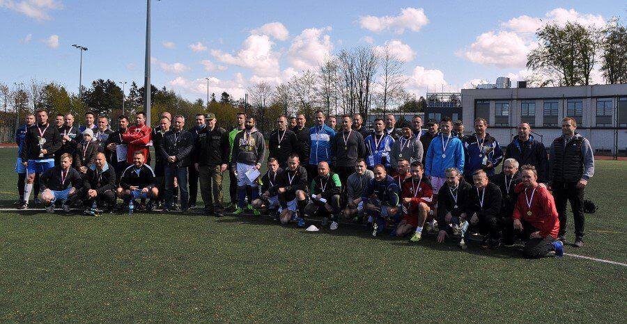 Znamy mistrzów Morskiego Oddziału Straży Granicznej w piłce nożnej
