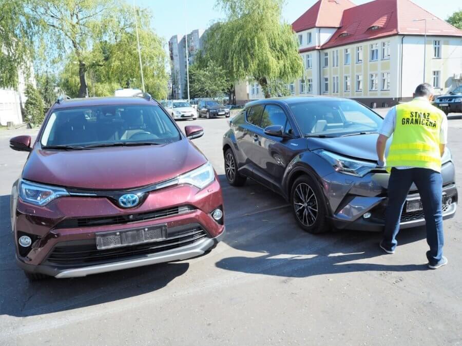 Skradzione samochody warte ćwierć miliona odzyskane w Świnoujściu