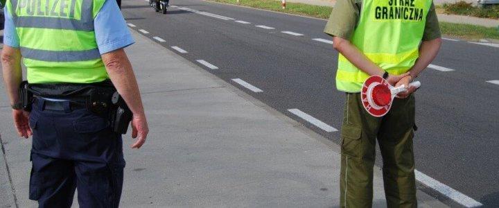Wspólne polsko – niemieckie patrole w Świnoujściu.
