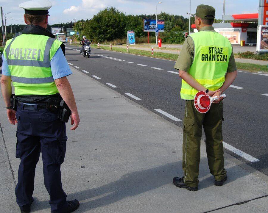 Wspólne polsko – niemieckie patrole w Świnoujściu