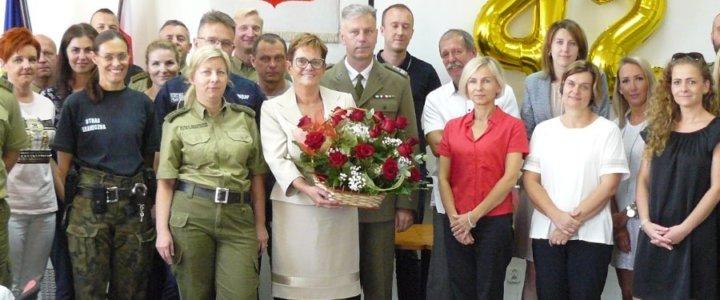 Świnoujście. Pożegnanie pracownicy w Placówce Straży Granicznej w Świnoujściu.