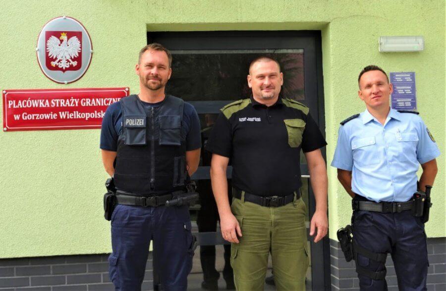 Funkcjonariusze niemieckiej Policji praktykowali w Świnoujściu.