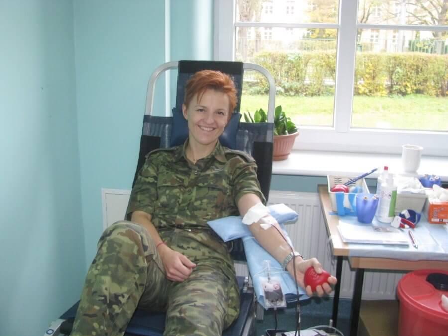 Szczecin. Oddali 18 litrów krwi i zebrali słodycze.