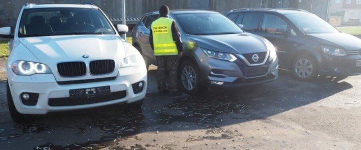Świnoujście. Samochody warte 255 tys. zł zatrzymała Straż Graniczna.
