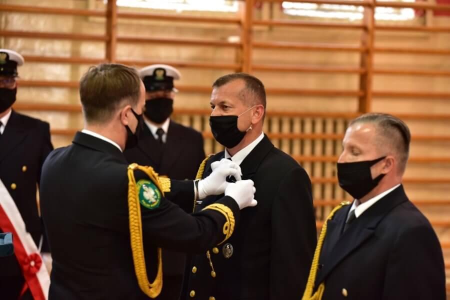 Odznaczenia w Morskim Oddziale Straży Granicznej.