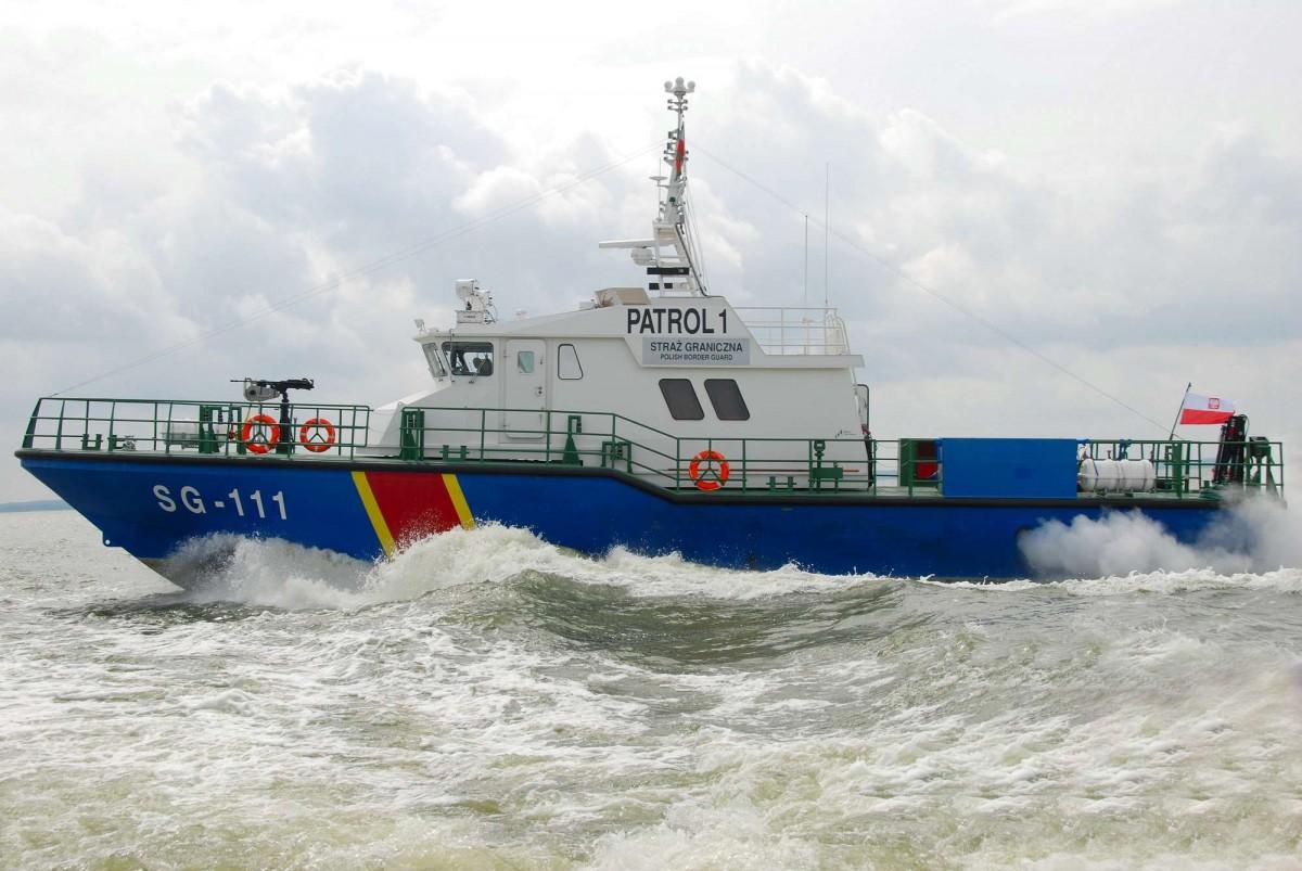 Czterech chętnych na budowę jednostki patrolowej dla MOSG