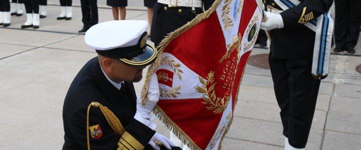 Uroczyste przekazanie obowiązków na stanowisku Komendanta Portu Wojennego Gdynia.