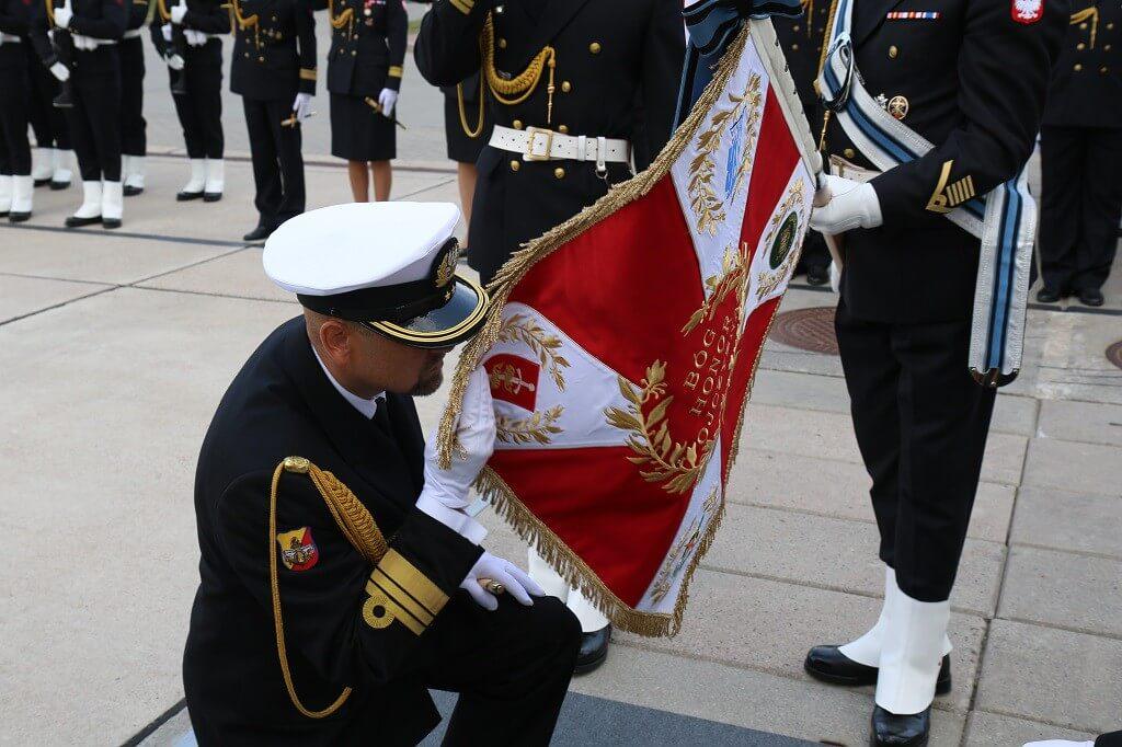 Uroczyste przekazanie obowiązków na stanowisku Komendanta Portu Wojennego Gdynia