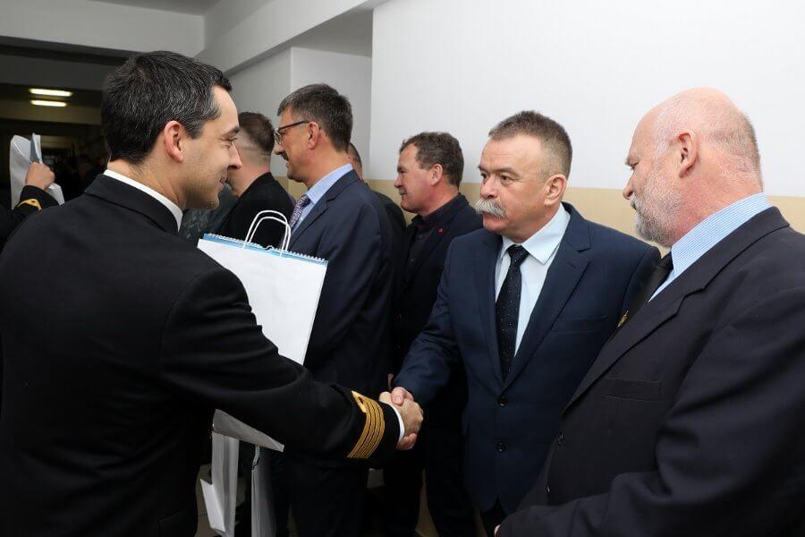 Świnoujście. 50 lat Grupy Nurków - Minerów 12. Dywizjonu Trałowców.
