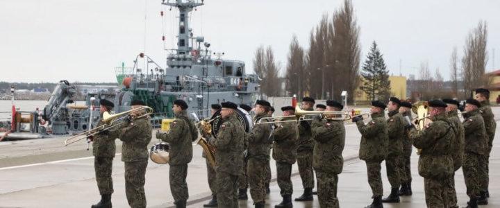 Świnoujście. 8. Flotylla Obrony Wybrzeża Inauguracja Roku - fotogaleria.