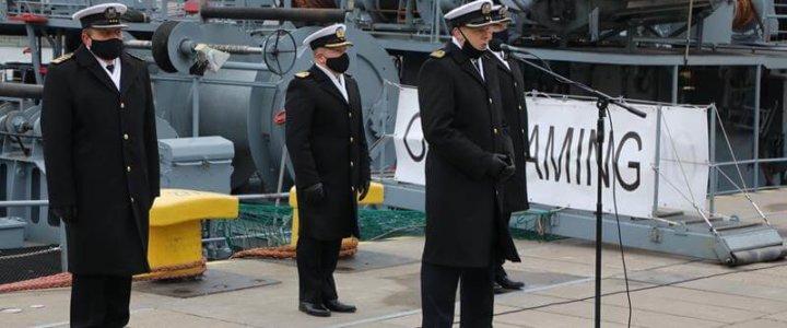 ORP Flaming kończy służbę w Marynarce Wojennej.