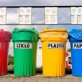 Świnoujście. Punkt zbiórki odpadów.