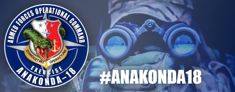 Rusza Anakonda 18 – największe tegoroczne ćwiczenia wojskowe